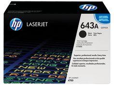 Muc In Hp 643A Black Laserjet Toner Cartridge , Mực in HP 643A Black LaserJet Toner Cartridge