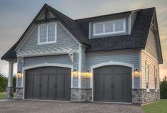 Great garage facade…nice lines.
