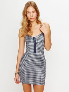 Free People Love of Gingham Bodycon, $29.95