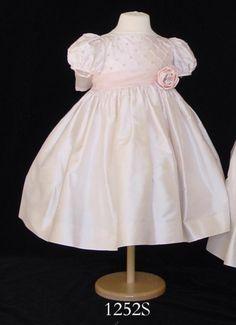 SUSANNE LIVELY SILK FLOWER GIRL, FIRST COMMUNION, CHRISTENING DRESSES