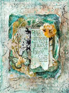 Tiffanys Paper Designs: Mixed media canvas. lindys stamp gang challenge entry.
