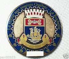 2007 Quebec City - 1608 to 2008 - Ant.Gold Finish - New Unactivated Geocoin