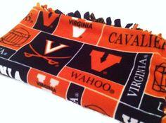 Items similar to UVA University of Virginia Yarn Wreath on Etsy