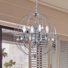 Get caught up in the fun fantasy that this Benita chandelier fills you with. The…