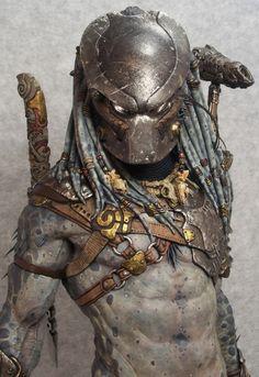 Narin Berserker Predator - Page 5 Predator Tattoo, Predator Cosplay, Predator Helmet, Predator Alien, Giger Alien, Sideshow Freaks, Statues, Xenomorph, Zbrush