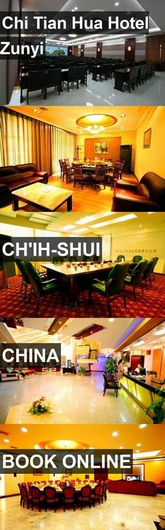 Hotel Chi Tian Hua Hotel Zunyi in Ch'ih-shui, China. For more information, photos, reviews and best prices please follow the link. #China #Ch'ih-shui #ChiTianHuaHotelZunyi #hotel #travel #vacation