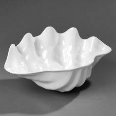 This is a white plastic bowl that measures wide x deep x tall and is great for shrimp cocktail or seafood salads. Mermaid Bowl, Seafood Salad, Plastic Bowls, Mermaid Parties, Pottery Designs, Pottery Bowls, Carlisle, Clams, Pie Dish