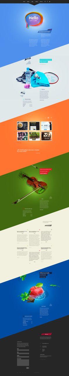 Portfolio v3 by ArsiZyr #webdesign