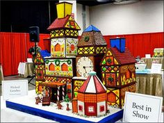 15 Amazing Gingerbread Houses - Just Short of Crazy