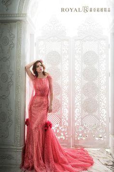 法式綺麗幻想。玫紅 - Dresses / Formal Wedding - 台北蘿亞結婚精品