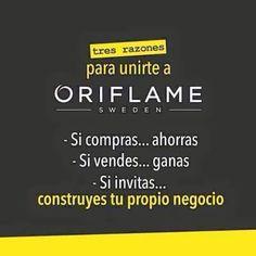 Cambia tu vida con #Oriflame
