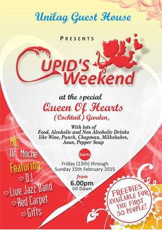 UNILAG GUEST HOUSES & CONFERENCE CENTRE HOLDS CUPID WEEKEND, FEB. 13-15   Campus Life