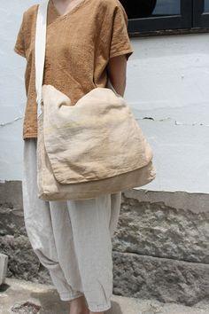 Newspaper Bags, Old Shirts, Boro, Cotton Bag, Tweed Jacket, Linen Dresses, Cloth Bags, Handmade Bags, Beautiful Bags