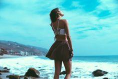 Bralette and skirt #brandymelville