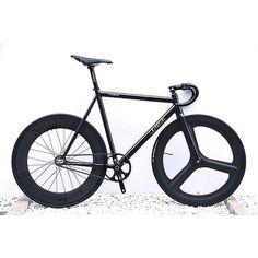Leader Bike Kagero in Black for 2015 custom by @brotures_harajuku