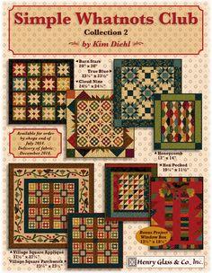 Kim Diehl..Henry Glass Fabrics: Desire To Inspire - December 2014 Edition