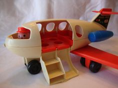 1970 Fisher Price Fun Jet 183 - I was born in the 80s, but i remember this toy