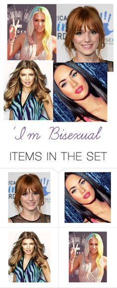 """""""4 Popular Women Who Is Bisexual"""" by oliviaballard04 ❤ liked on Polyvore featuring art, beautiful, artexpression and lovewins"""