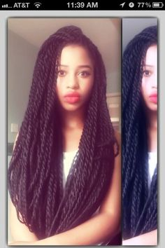 Marley twists -- I want these.