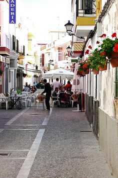 Best restaurant in Rota, Spain at the end of the street on the left! amazing food!