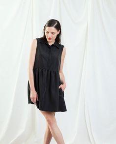 Black DressLittle Black Dress Summer Sleeveless by YaelAdmoni