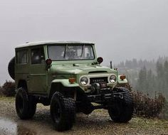 Very Nice FJ40 Trail Rig from Late 60's - Great Green Color - Icon 4x4