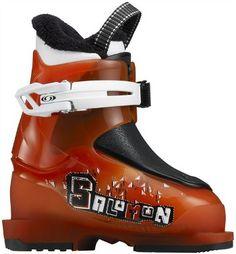 Chaussures de ski Salomon Team 3 Junior Orange & Noir My Sport Market