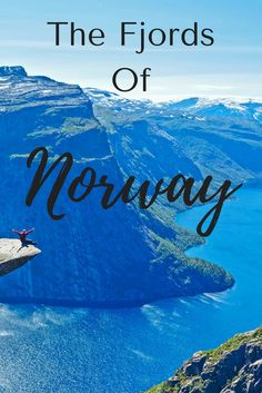 Who has been to the fjords of Norway? It's high on my bucket list for sure. Here are some tips on which fjords to go to (and where you can go to sit on that scary ledge!!) #travel #norway #norwaytravel #europetravel #europedestinations #adventuretravel #wanderyourway
