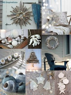 Beach Christmas inspiration