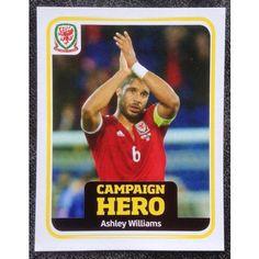 Football Soccer Sticker Panini UEFA Euro 2016 Campaign Cymru Wales #186
