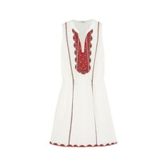 15 Standout Spring Dresses Under $300 | The Zoe Report- Embroidered Cotton Mini Dress, Madewell $150