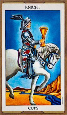 Knight of Cups - Tarot Card Meaning & Interpretation
