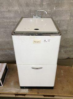 Vintage Duratub Washroom Laundry Sink I Want This
