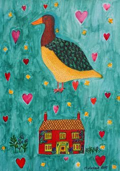 """My coloring of """"Countrystyle. The Country Cottage"""" book by Ryn Frank Country Style, Coloring Books, Cottage, Kids Rugs, Home Decor, Vintage Coloring Books, Rugged Men's Fashion, Decoration Home, Kid Friendly Rugs"""