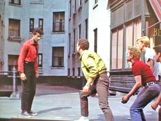 West Side Story - Prologue - (PopSpots) George Chakiris, West Side Story, Couple Photos, Couple Shots, Couple Pics