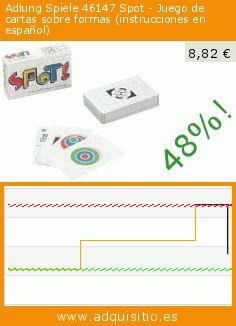 Adlung Spiele 46147 Spot - Juego de cartas sobre formas (instrucciones en español) (Juguete). Baja 48%! Precio actual 8,82 €, el precio anterior fue de 17,06 €. https://www.adquisitio.es/adlung-spiele/46147-spot-juego-cartas