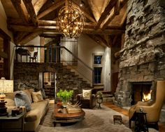 Gorgeous living room. Tuscan. Mediterranean.