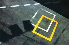 Ernst Haas Shadow on Pavement, Germany, 1977