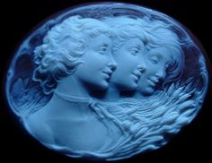 Antique Cameo carved by Giovanni Noto