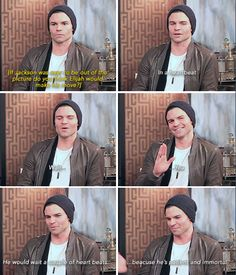 Daniel Gillies on Haylijah [TV Fanatics, November 12, 2015]