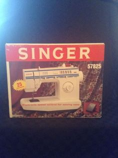 NIB Singer 57825 Table Top Electronic Speed Control Sewing Maching Sew #Singer