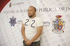 <p>Ciudad Juárez, Chih.- Agentes de la Policía Municipal arrestaron a Lorenzo David P. R., por su presunta responsabilidad en la comisión