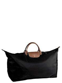 large Longchamp Le Pliage travel bag -- my favorite!