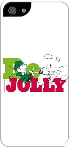 Snoopy Be Jolly Kendin Tasarla - İphone 5/5S Kılıfları