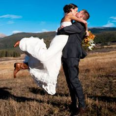 Western details to a beautiful Colorado wedding