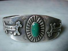 Fred Harvey Era Turquoise Jewelry
