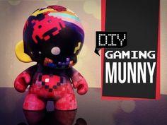 Gaming Munny - DIY GG