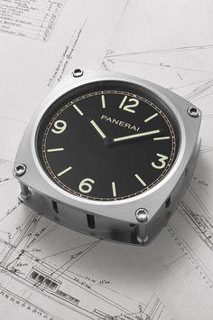 Panerai Wall Clock and Yacht-Inspired Navigation Instruments