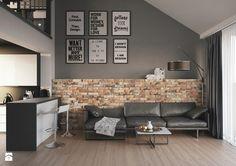 Cegła kolekcja Piatto - Salon, styl industrialny - zdjęcie od Cerrad