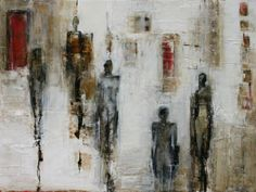 Felice Sharp..stark, yet complex.. mixes well with other styles of paintings..